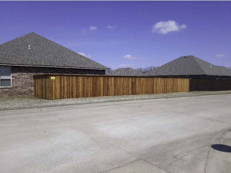 Deep South Fencing and Specialties wooden fence