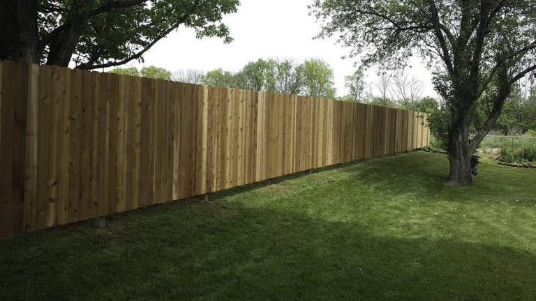 Simpson Fence Co.  Inc. Wooden Fence