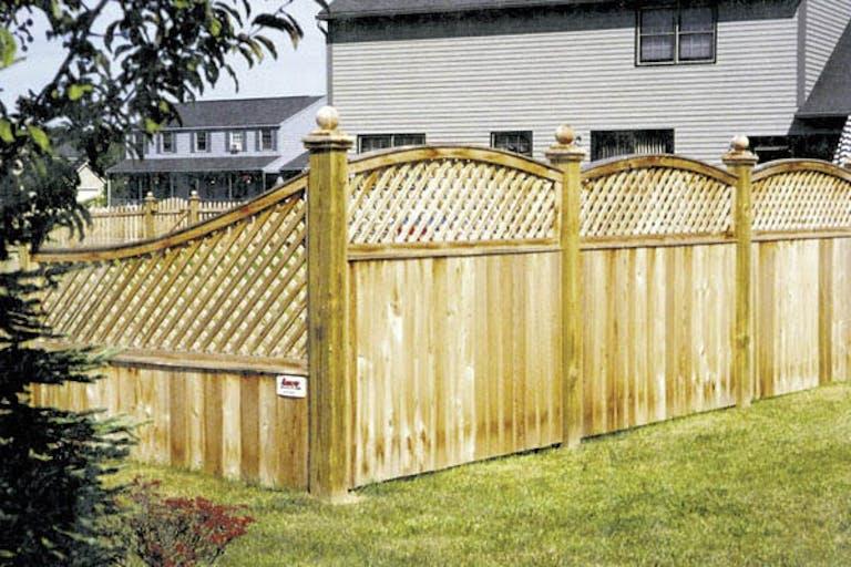 Arrow Fence Company Wooden Fence