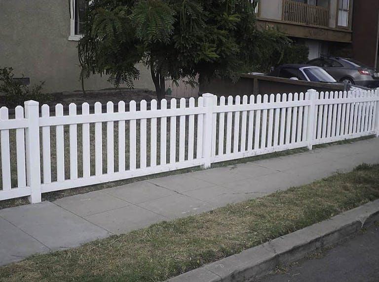 Balboa Fence wooden fence