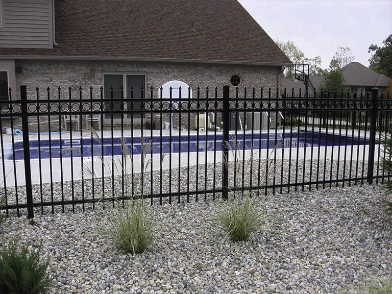 Valley Fence Co.  Inc. Iron Fence