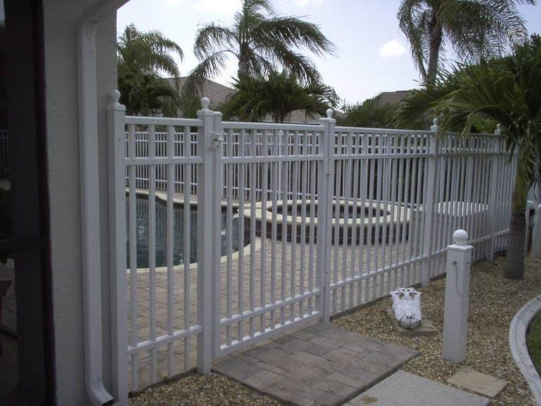 Century Fence Co. Inc. Steel Fence