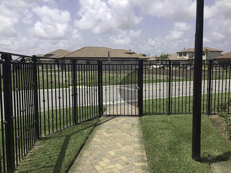Royal Fence & Equipment Iron Fence