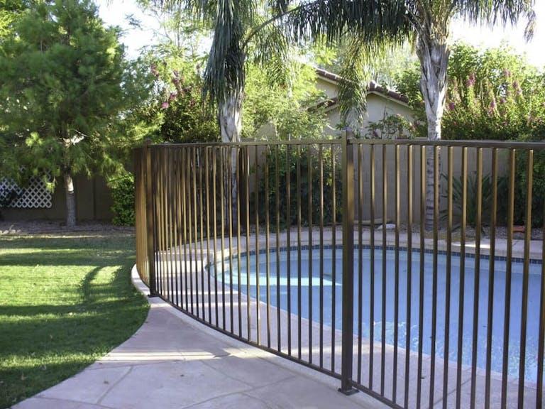 Hurricane-Fence-Iron Fence