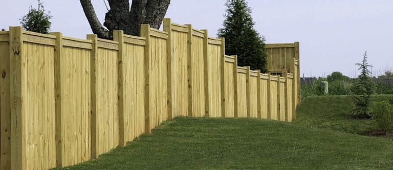 MJ's Sprinklers and Fences Wooden Fence