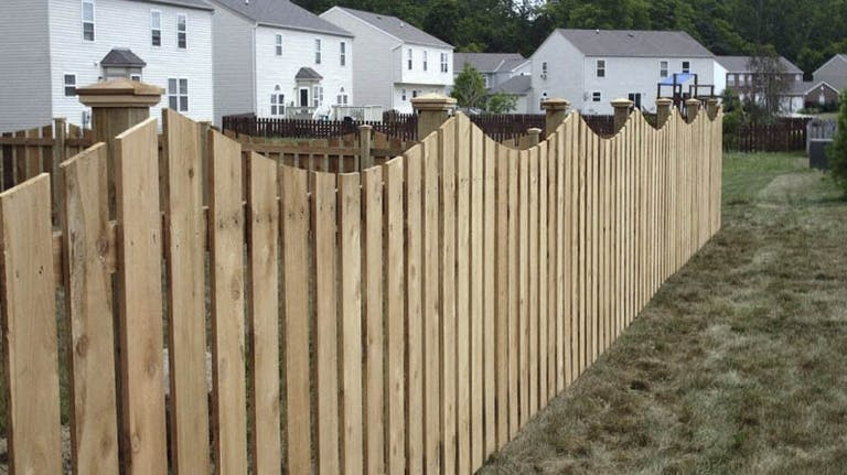 Trudeau's Fence Company Wooden Fence
