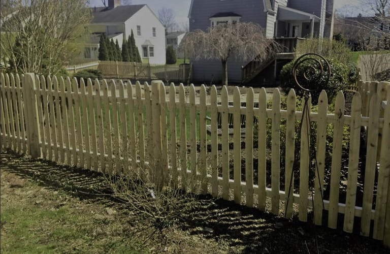 Connecticut Fence Works wooden fence