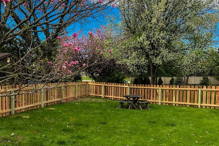Post Up Fencing wooden fence