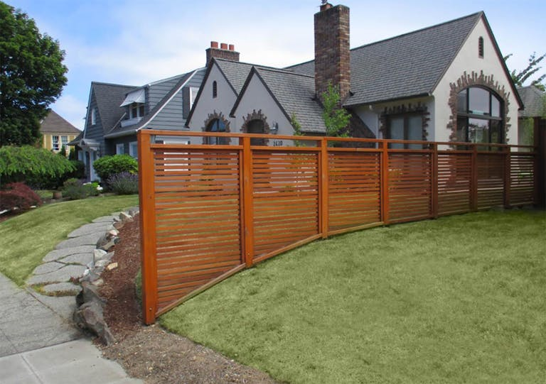 All City Fence Co. Wooden Fence