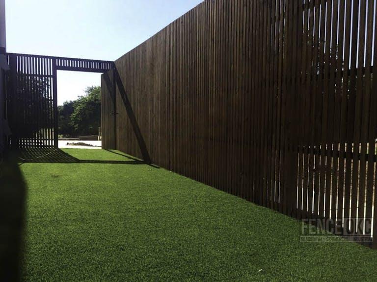 Fence OKC Wooden Fence
