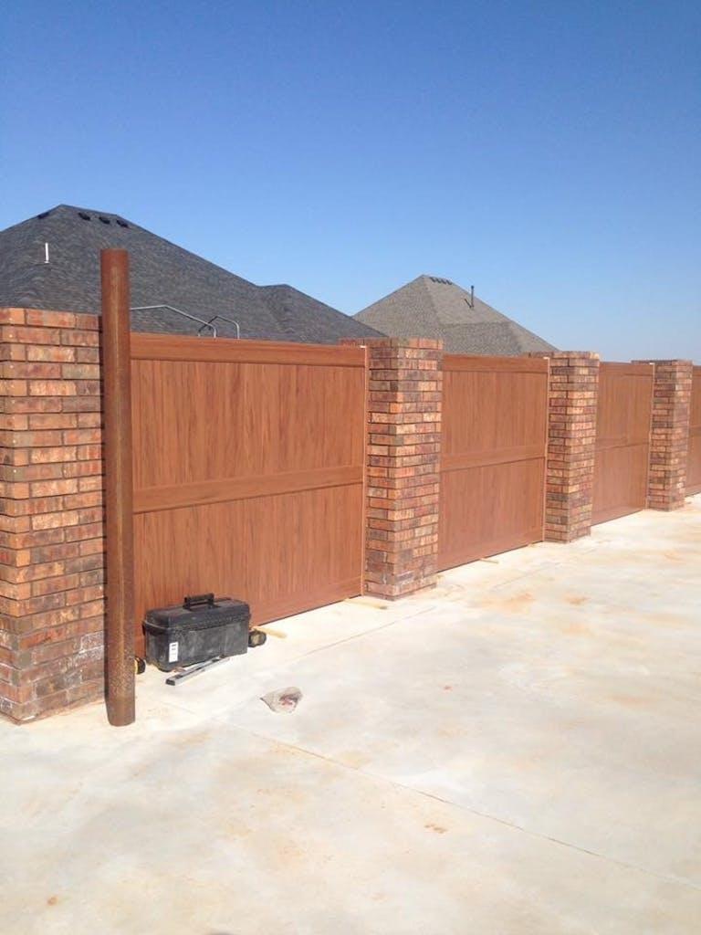 Southwest Fence Co wooden fence