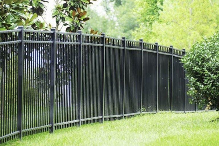 Penrod Lumber and Fence Company Iron Fence