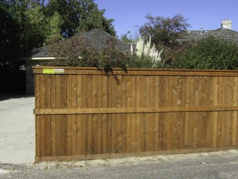 Jim's Fence Co.  LLC Wooden Fence