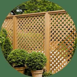 lattice fence style