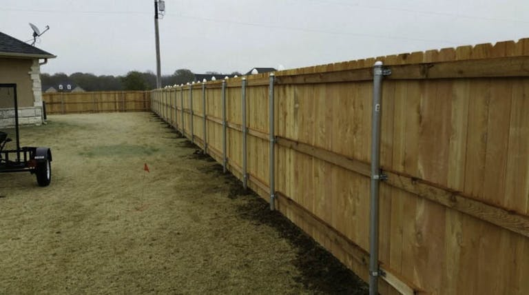 Affordable Fence wooden fence
