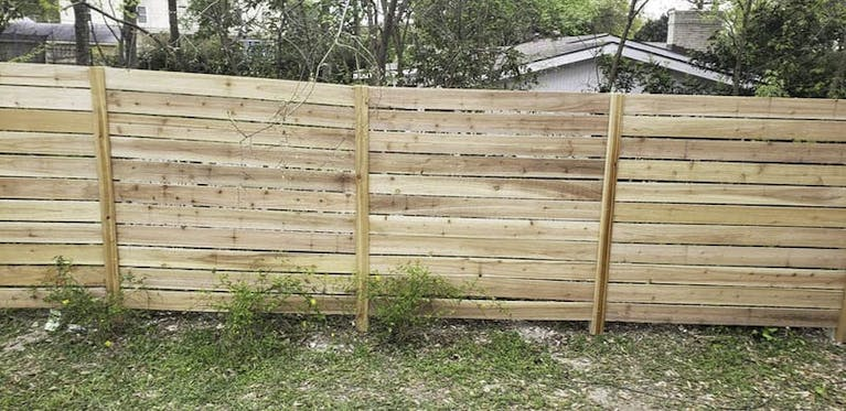 Pina Landscaping and Fence Company Wooden Fence