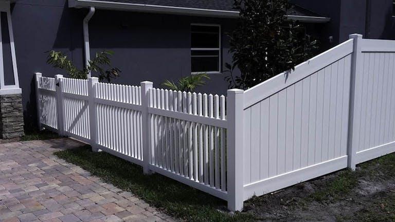 Fence Services Vinyl Fence