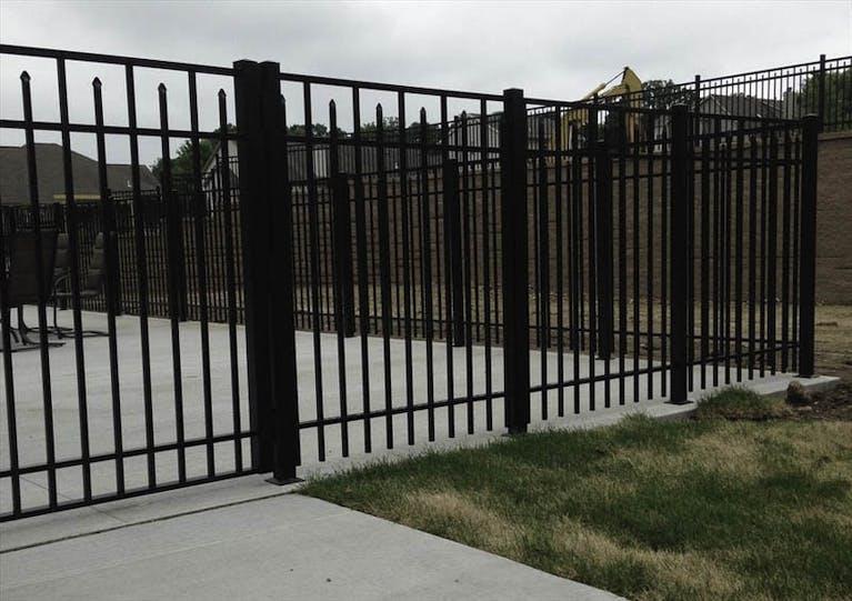Heiar Custom Fencing Steel Fence