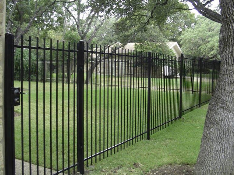 Aber-Fence-Iron Fence