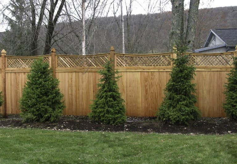 Atlas Fence Inc. Wooden Fence