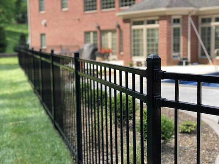 Diggers, Inc. steel fence