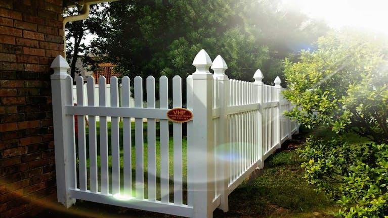 Vanhoose Fence picket fence