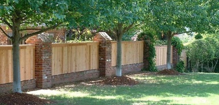 Jenks Fence wooden fence