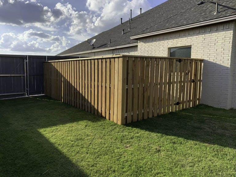 Jade Parker LLC Wooden Fence