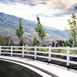 ranch fence style