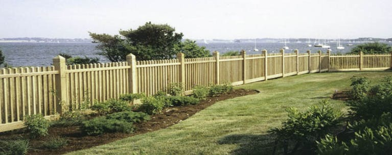 Statewide Fence Builders  Inc. Wooden Fence