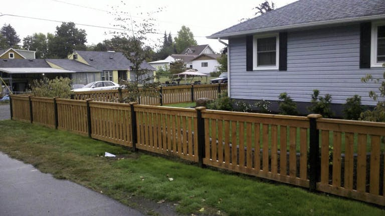 Rock Bottom Fencing Wooden Fence