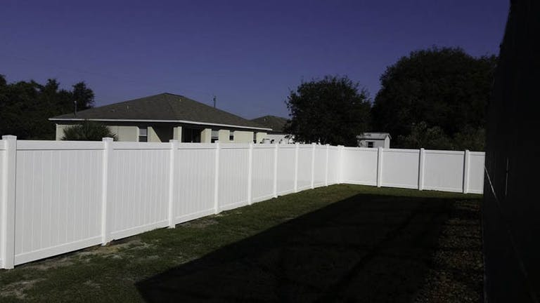 Muscle Fence Vinyl Fence