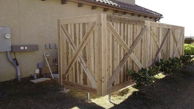 HarrisonFence-Wooden Fence