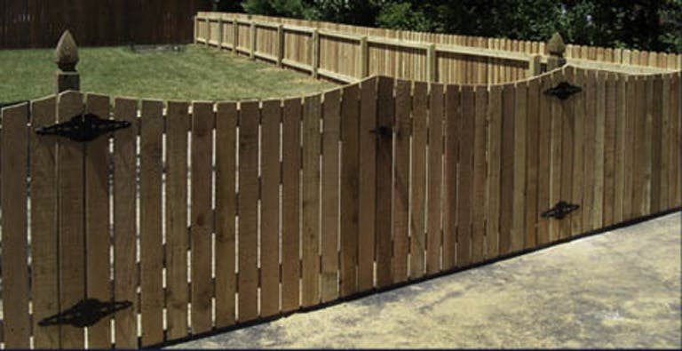The-Fence-Co.-Wooden Fence