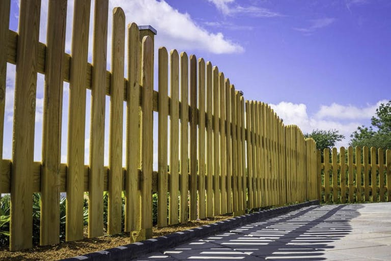 South Florida Fence Co. Wooden Fence