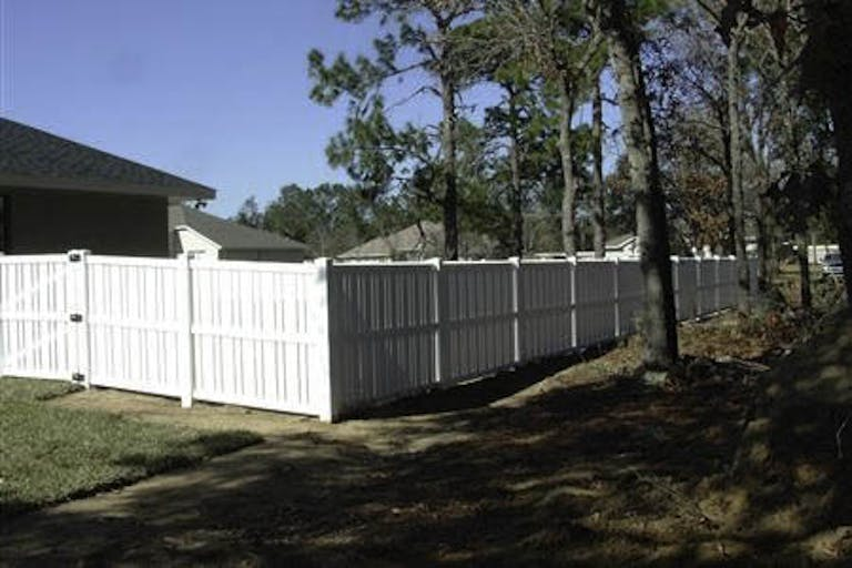 New Tampa Fence Vinyl Fence