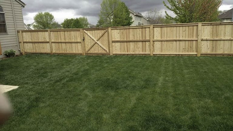 Central-Iowa-Fencing-Wooden Fence