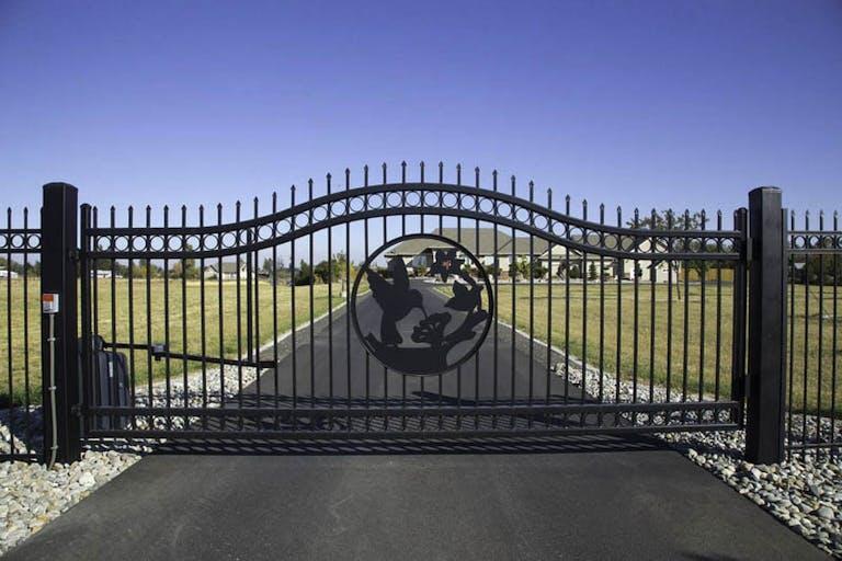 Northwest Fence Company-Iron Fence