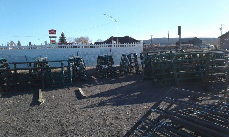 Orton Farm Center wooden fence