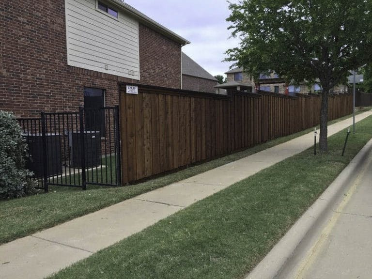 DFW Fence Contractor Wooden Fence