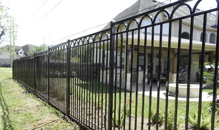 Tim's-Fences-Iron Fence