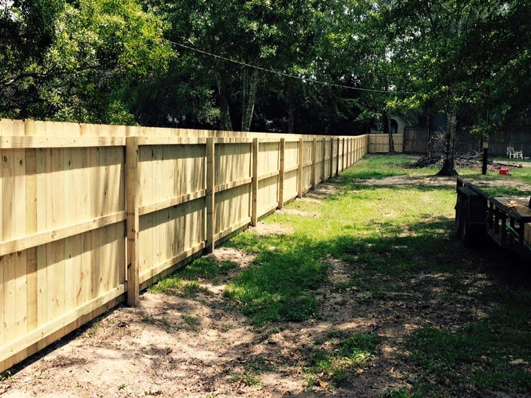Southern  Exteriors  Fence  Co.  wooden  fence