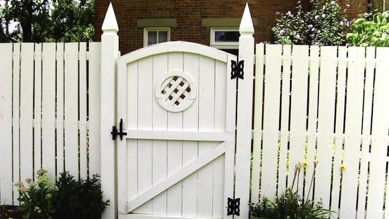 Ashlee Fence Enterprises  Inc. Wooden Fence