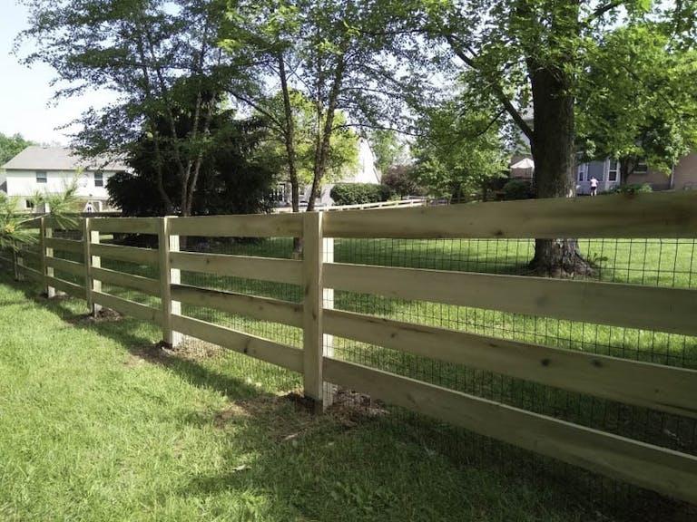 Bedrock Fence LLC Custom Fence