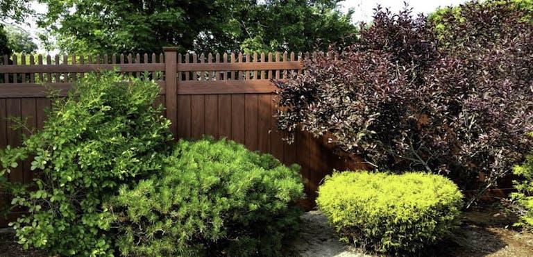 Highland Fence Co. Wooden Fence