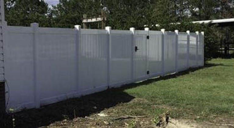 Yancey Fence Company Custom Fence
