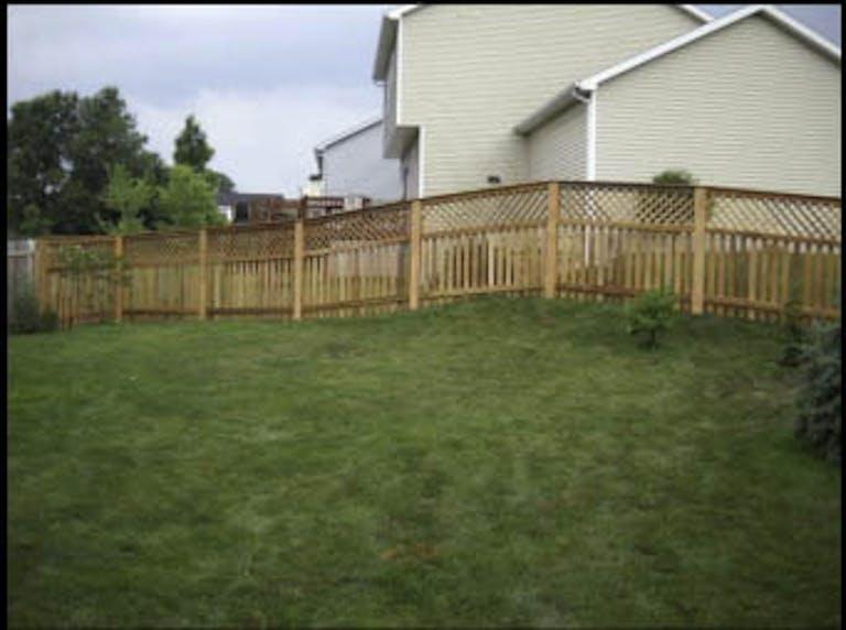 Leading Edge Fences LLC Wooden Fence