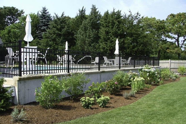 Cape Cod Fence Co.  Steel Fence