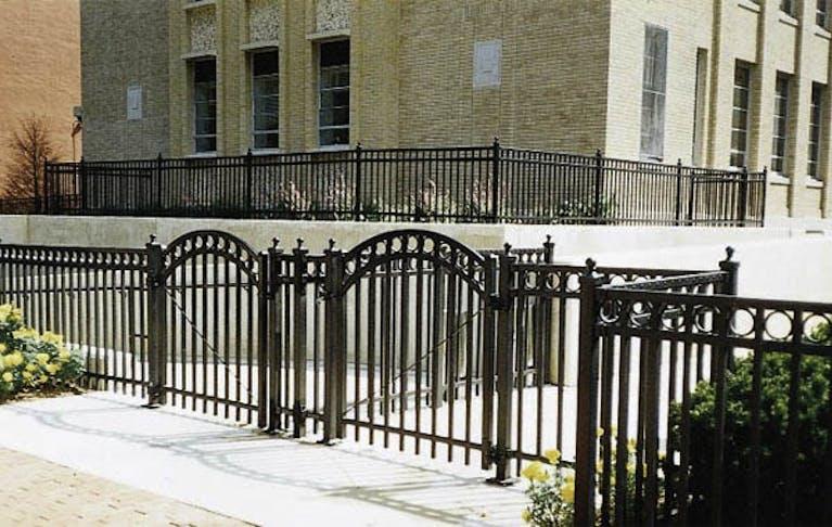Miller Fence Co.  Inc. Steel Fence