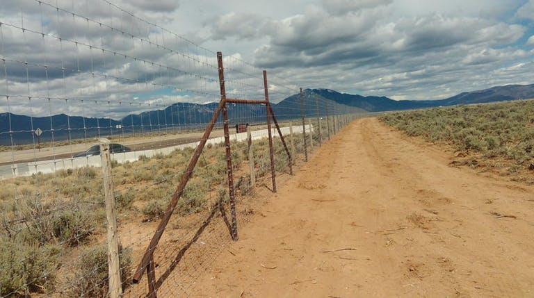 Guadalupe Mountain Fencing LLC. chain link fence.